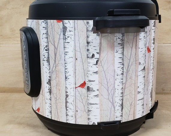 Christmas Wrap - Birch Trees with Bird  Wrap for Instant Pot® brand pressure cooker