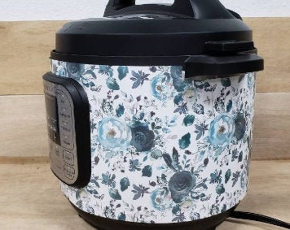 Navy Floral Wrap for Instant Pot® brand pressure cooker