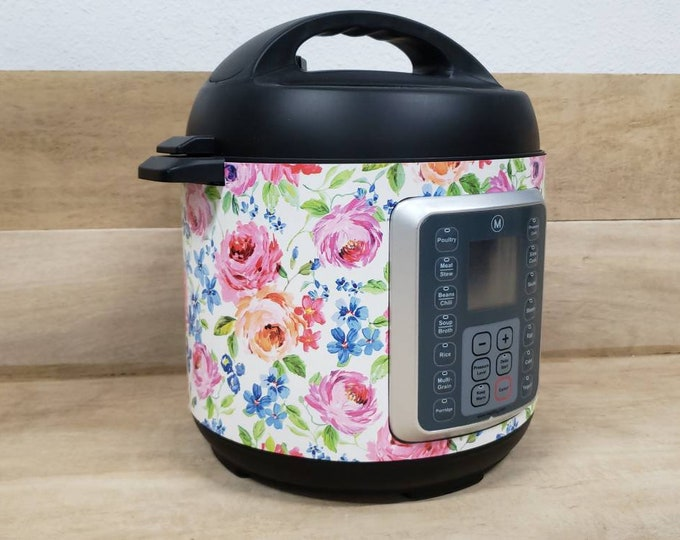 Little Flowers, Instant Pot Wrap and Mealthy Multicooker Wrap, Removable AND wipe able