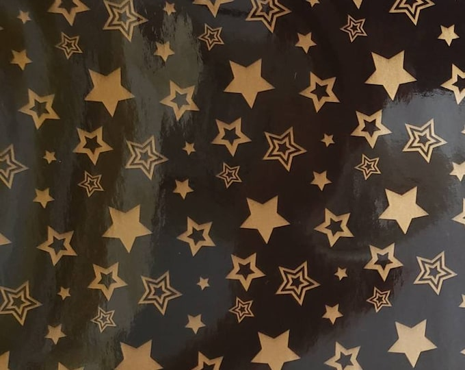 Black with Gold Stars, Instant Pot Wrap,  Removable AND wipe able, Mealthy Multicooker Wrap