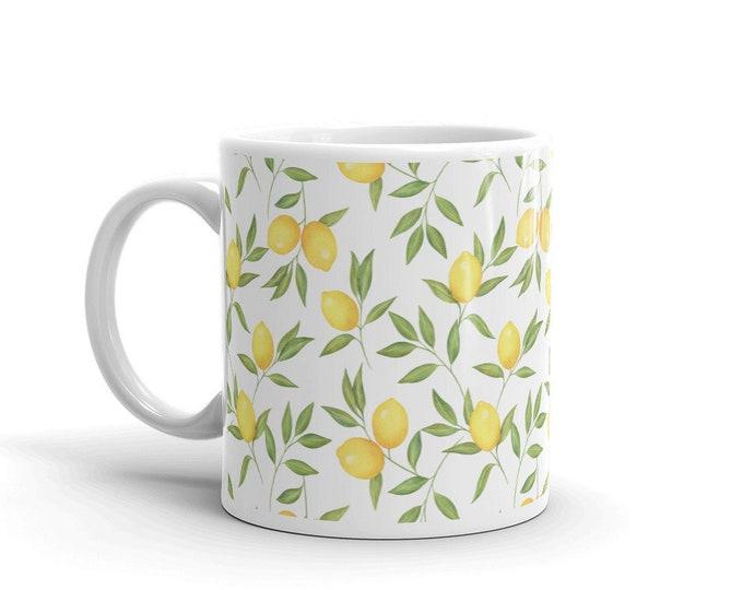 Lemons Coffee Tea Mug