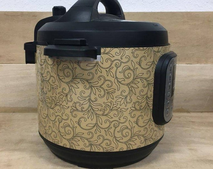 Vine Doodle, Instant Pot Wrap,  Removable AND wipe able, Mealthy Multicooker Wrap