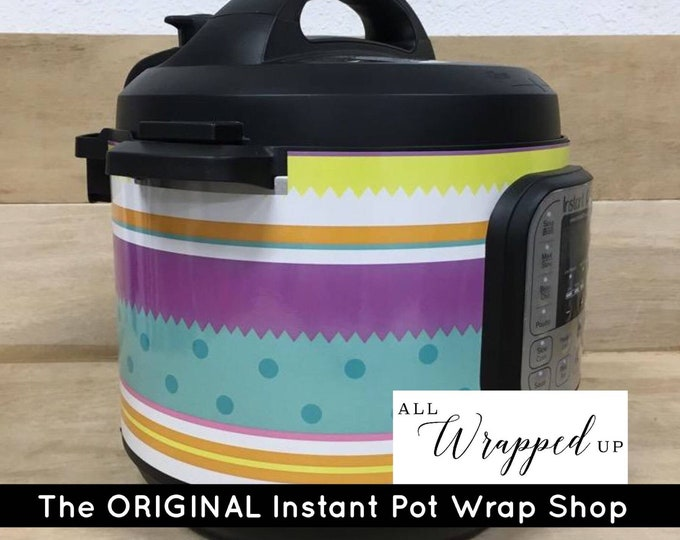 Easter Egg, Instant Pot Wrap,  Removable AND wipe able, Mealthy Multicooker Wrap