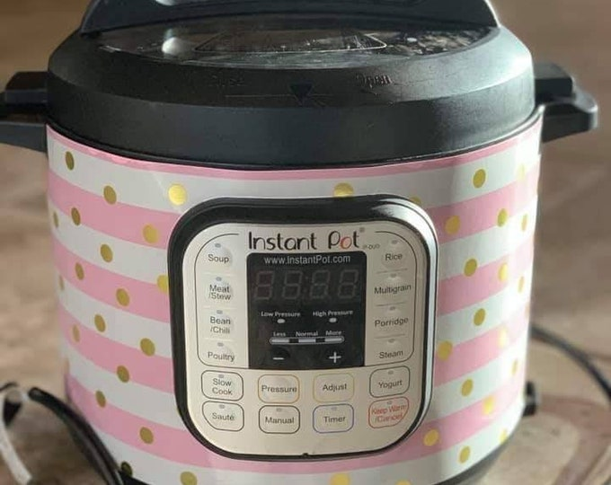 Pretty in Pink, Instant Pot Wrap,  Removable AND wipe able, Mealthy Multicooker Wrap