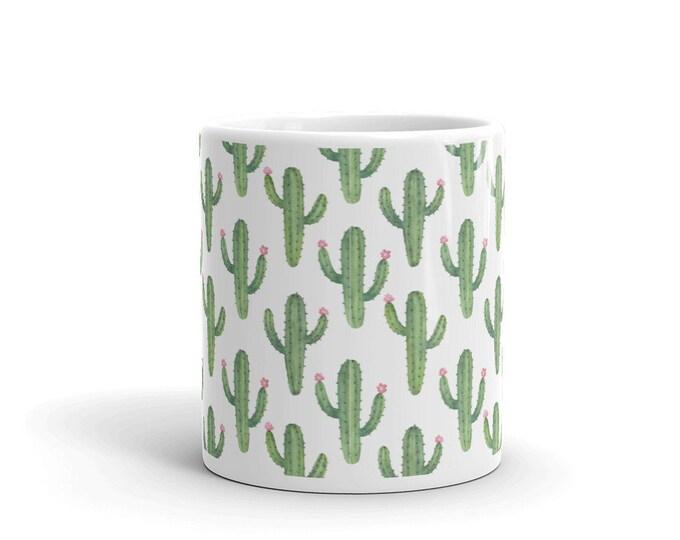 Cactus Coffee Tea Mug