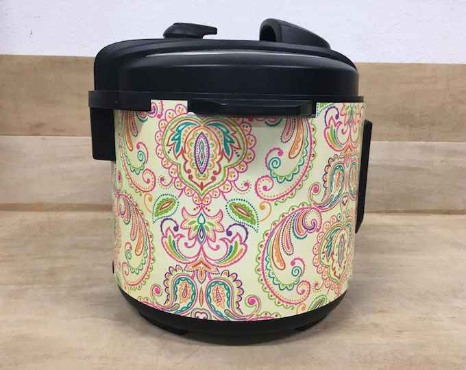 Paisley, Instant Pot Wrap,  Removable AND wipe able, Mealthy Multicooker Wrap