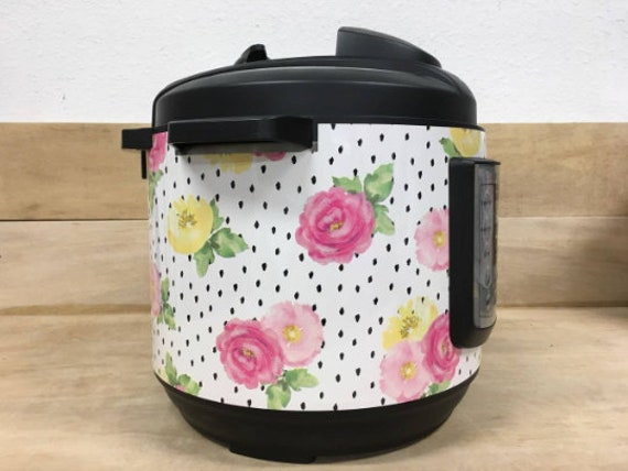 Roses with Polka Dots Wrap for Instant Pot® brand pressure cooker All Wrapped Up