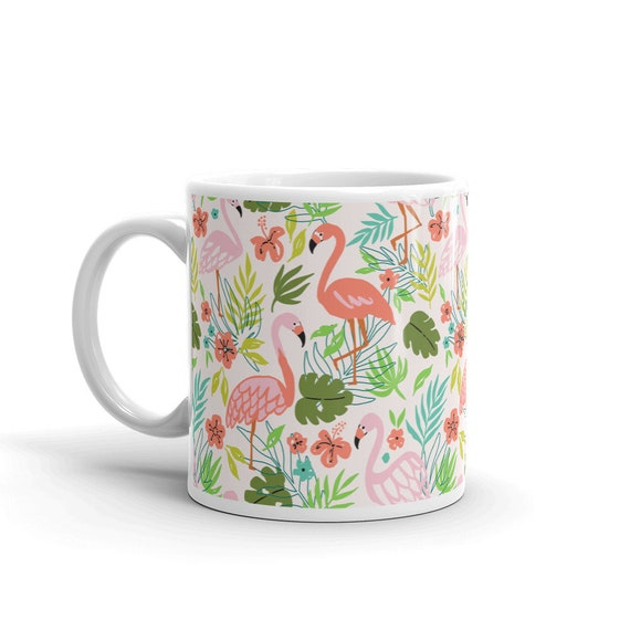 Flamingo 11 oz Coffee Mug