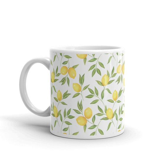 Lemons Coffee Tea Mug