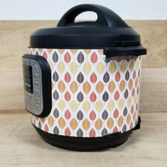 Scandinavian Fall Leaves, Instant Pot Wrap, Removable