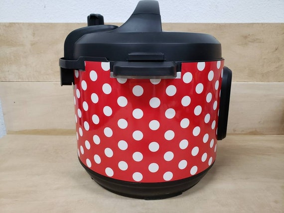 Red and White Polka Dot Wrap for Instant Pot® brand pressure cooker All Wrapped Up