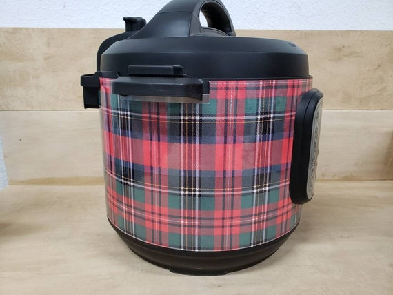 Christmas Wrap for Instant Pot® brand pressure cooker, Christmas Plaid