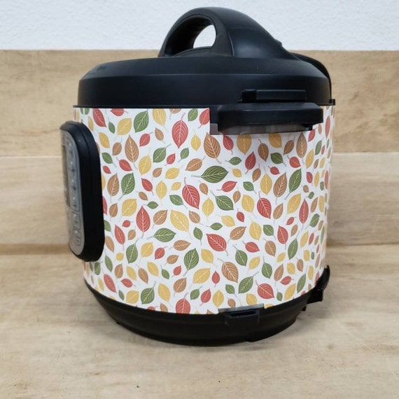 Scattered Fall Leaves, Instant Pot Wrap,  Removable