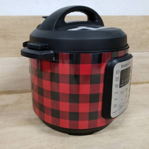 Red and Black Buffalo Plaid Wrap for Instant Pot® brand pressure cooker All Wrapped Up