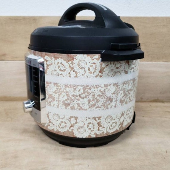 Burlap and Lace Wrap for Instant Pot® brand pressure cooker All Wrapped Up