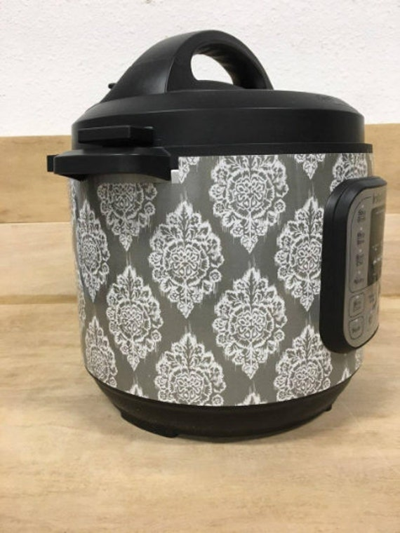 Gray Ikat Wrap for Instant Pot® brand pressure cooker All Wrapped Up