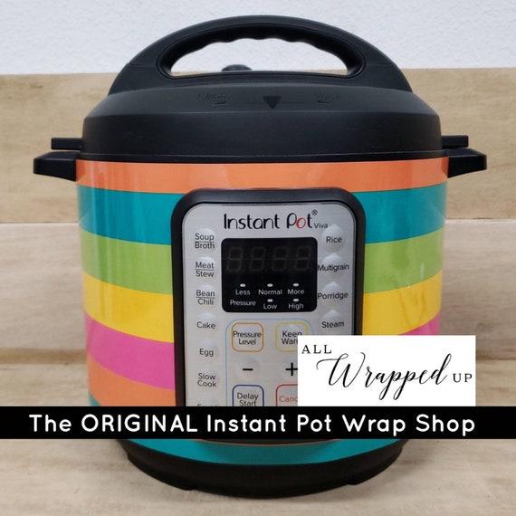Summer Stripes, Instant Pot Wrap,  Removable