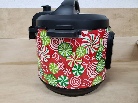 Christmas Wrap for Instant Pot® brand pressure cooker, Candy swirl