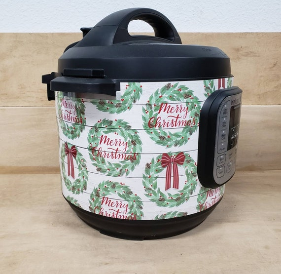 Christmas (pick a pattern!) Wrap for Instant Pot® brand pressure cooker