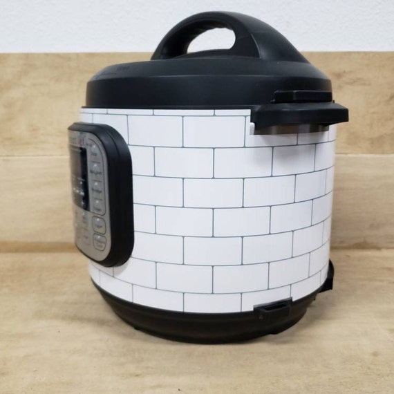 Subway Tile, Instant Pot Wrap,  Removable AND wipe able