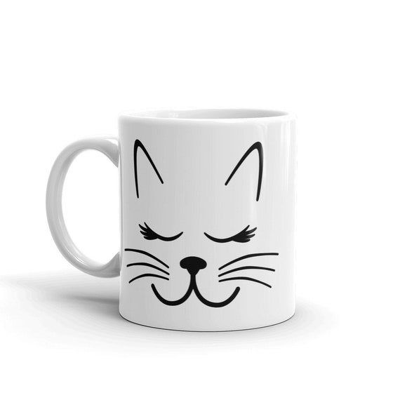 Cat Whiskers Coffee Mug, 11 or 15 ounces