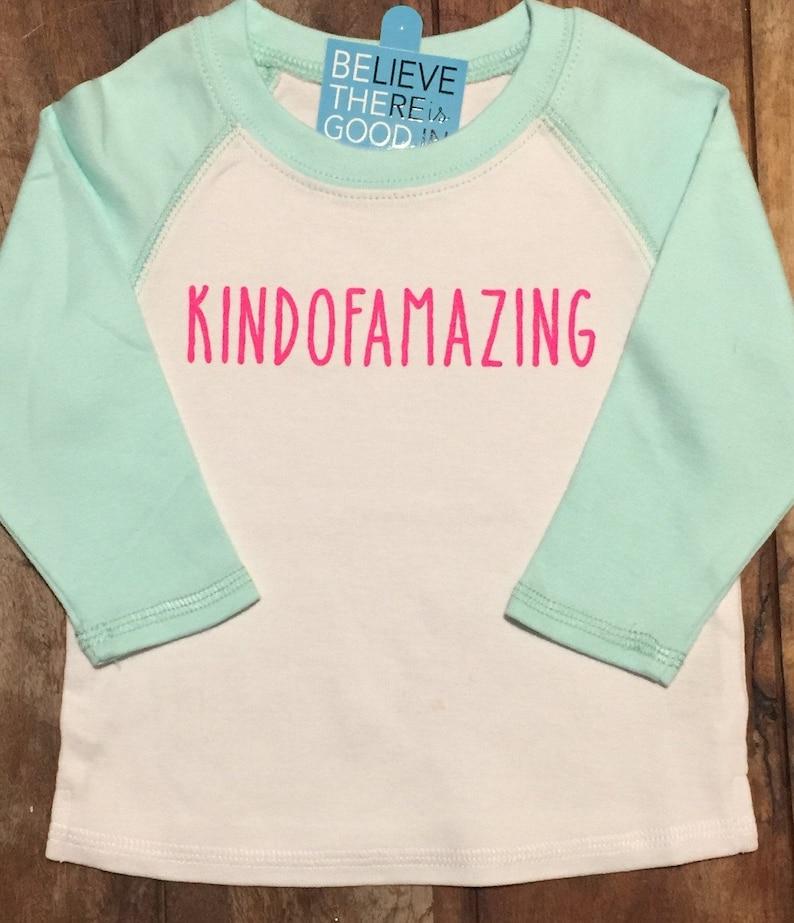 Kindofamazing cool tshirt for babies tee for amazing kids image 0
