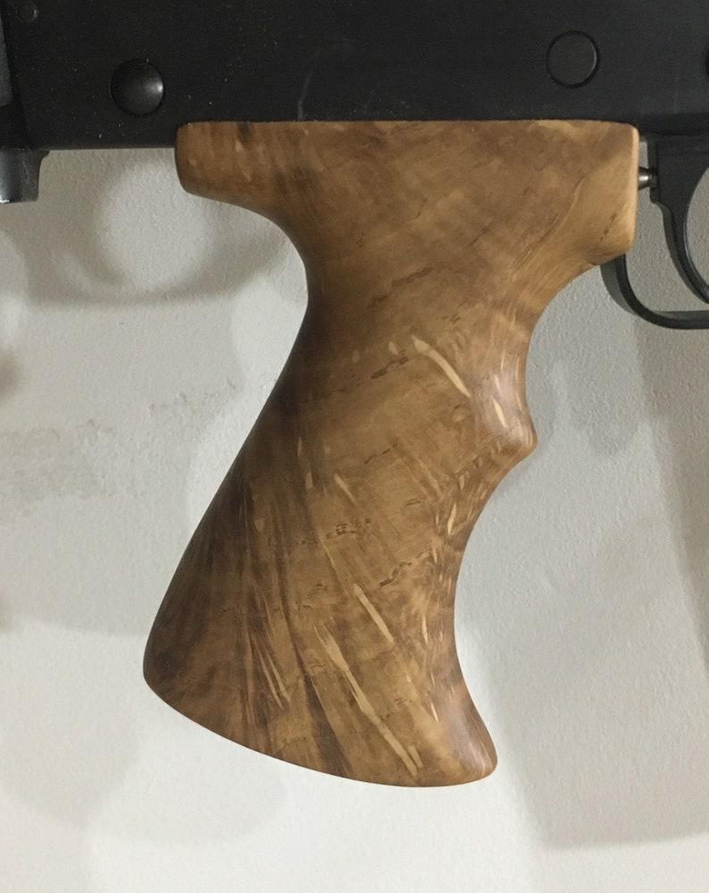 Custom Hardwood FN-FAL Pistol Grip
