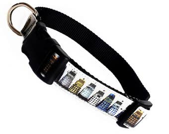 DOCTOR WHO inspired Daleks quick click release dog collar - large