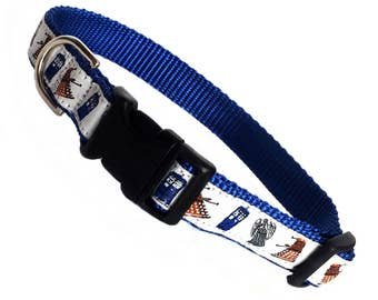 DOCTOR WHO inspired click quick release dog collar