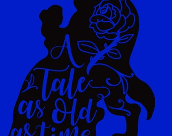 Custom T-Shirt: A tale as old as time (Beauty and the Beast)