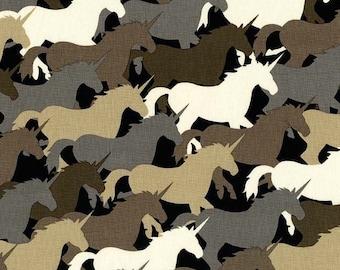 Michael Miller - Unicorn Herd - Taupe