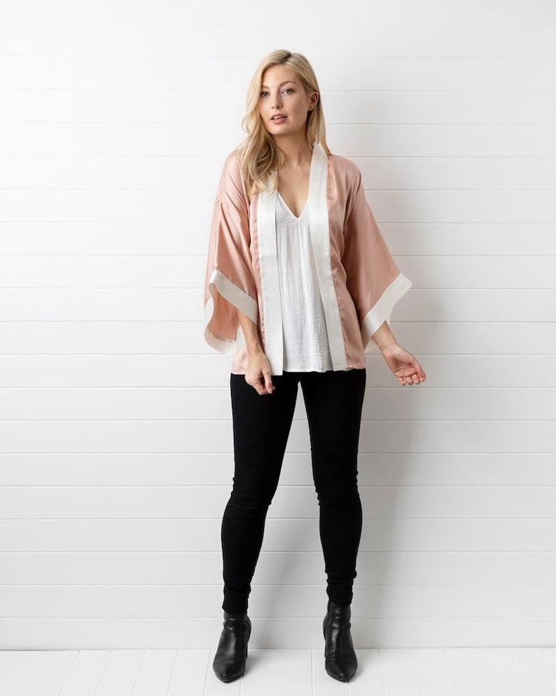Blush Kimono Jacket