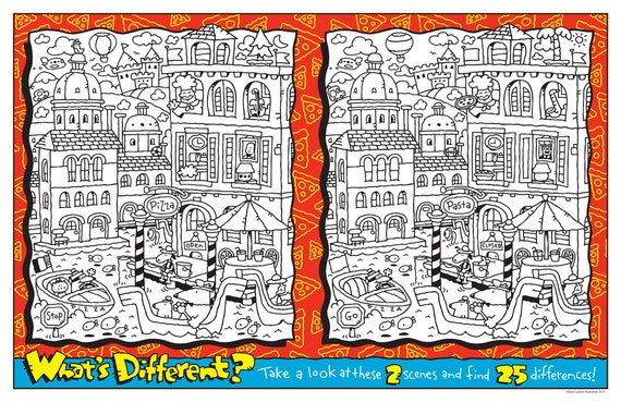photograph relating to Printable Kids Game named WHATS Alternative COLORING Printable Small children Activity 1