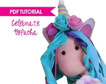 Pdf Tutorial - Celebrate Fofucha - Step by Step instructions - Templates