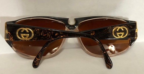 Vintage Genuine Gucci women sunglasses - image 5