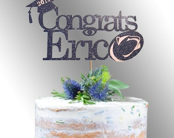 Graduation Cake Topper Etsy