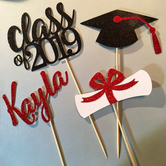 Graduation Centerpiece Sticks Graduation Centerpiece Etsy