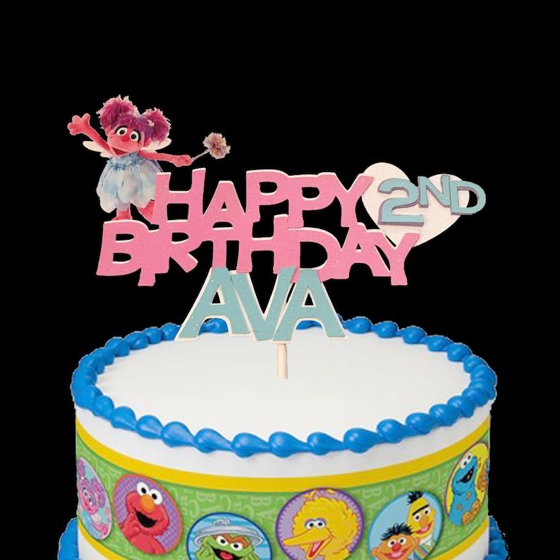 Abby Cadabby Birthday Cake Topper