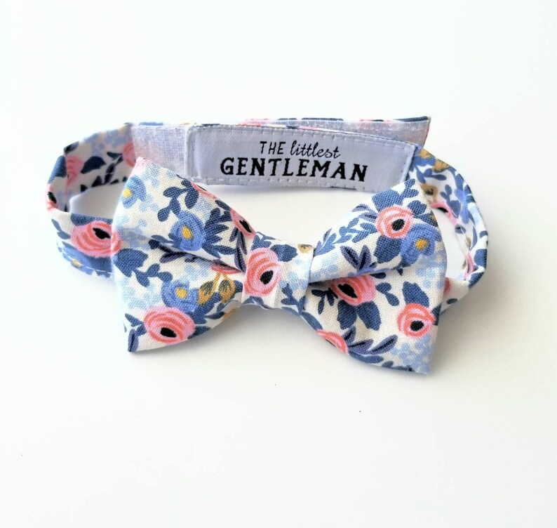f152f5258a90f boys floral bow tie, ring bearer outfit, page boy, boys wedding bow tie