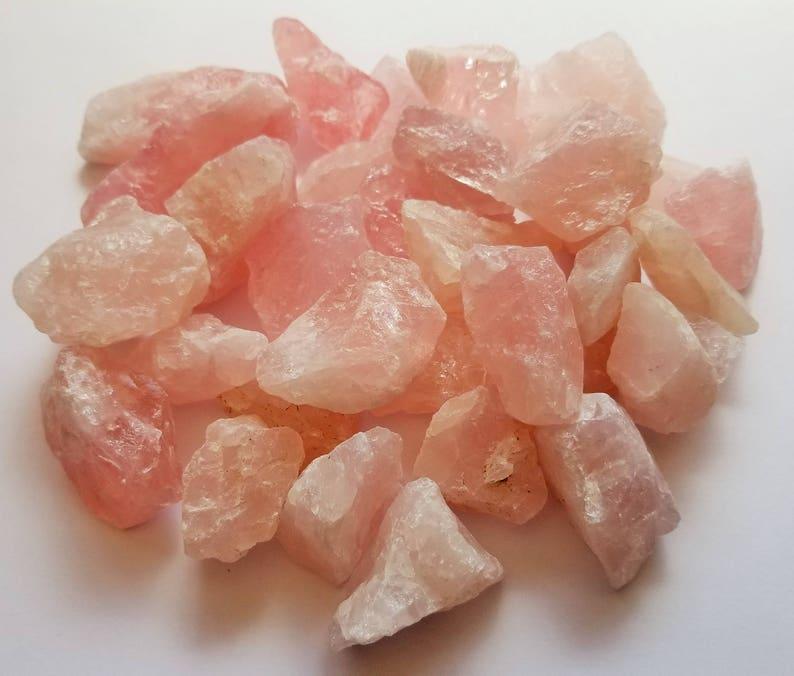 Rose Quartz Meditation Stone Pink Quartz Large Pink Stones Pink Rose Quartz Stones Genuine Rose Quartz