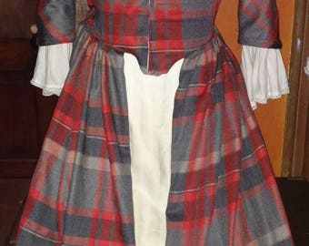 18th Century Scottish Style Day Dress