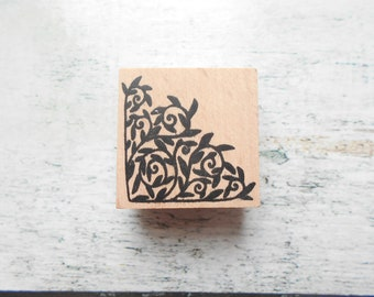 """Wooden rubber stamp """"angle to""""-sold individually"""