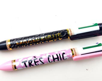 4 colors - set of 2 pens