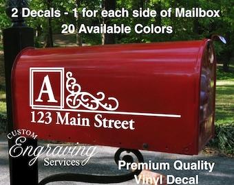 Mailbox Decal