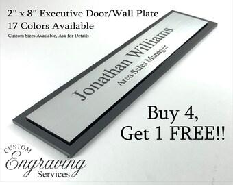 Office Door Plate/Sign