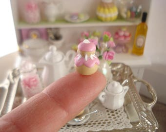delicious 1 small religious Strawberry miniature display or doll