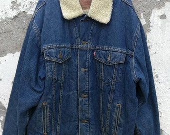 Levis shearling | Etsy