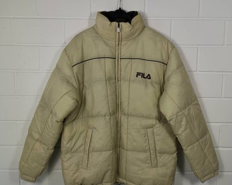 Fila down jacket | Etsy