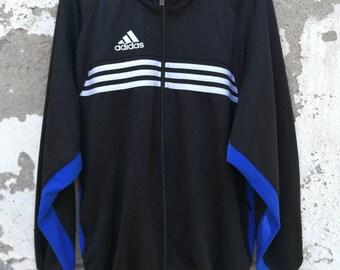 Vintage Adidas Track Top Jacket Training Jacket 80s 90s Size S Etsy