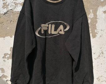 ebfcb5c22851df Vintage FILA Sweatshirt Jumper Sweater unisex 80s 90s Size M